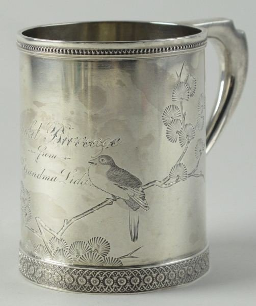 3: Tiffany & Co. Sterling Presentation Mug