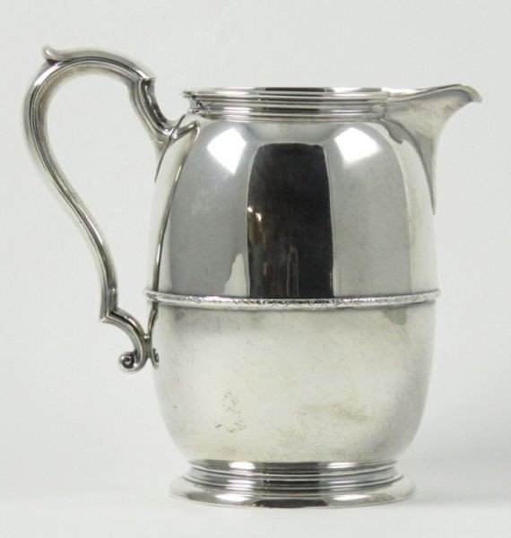 10: International Sterling Water Pitcher
