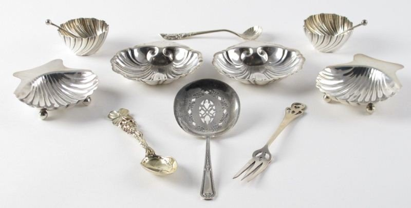 16: Group of Sterling Silver Objects