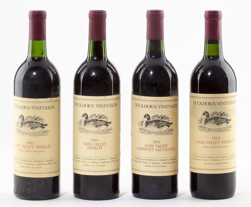 1008: 1983, 1984 & 1992 Duckhorn Vineyards