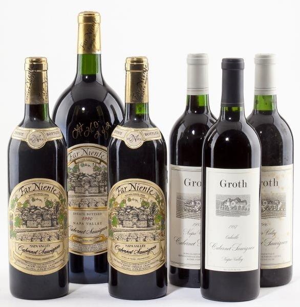 1009: 1983 & 1990 Far Niente & 1985, 1986 & 1997 Groth