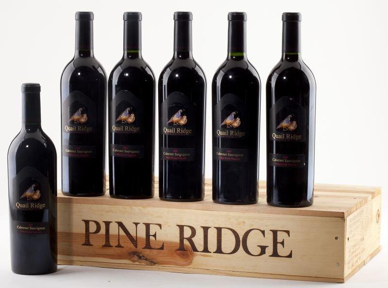1014: 1987 Pine Ridge & 1995 Quail Ridge