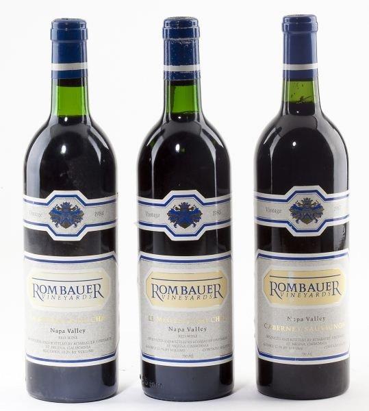1021: 1984, 1985 & 1987 Rombauer Vineyards