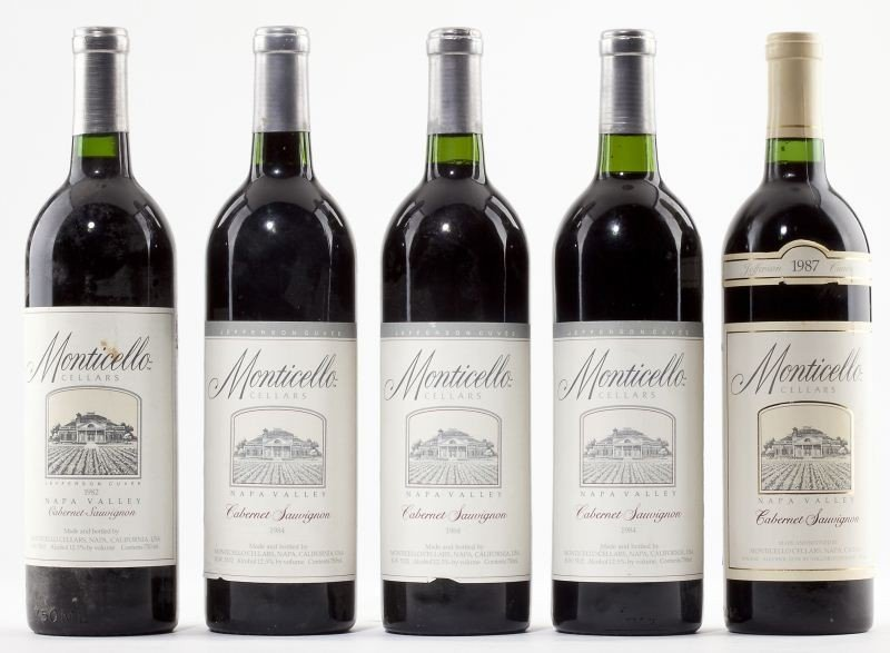 1025: 1982, 1984 & 1987 Monticello Vineyards