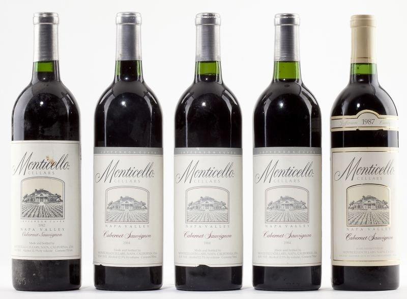 1025: 1982, 1984 & 1987 Monticello Vineyards