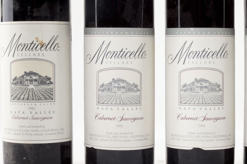 1025: 1982, 1984 & 1987 Monticello Vineyards - 2