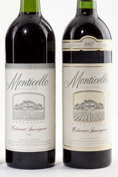 1025: 1982, 1984 & 1987 Monticello Vineyards - 3