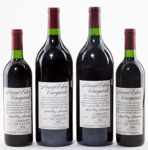 1026: 1983 & 1984 Mount Eden Vineyards
