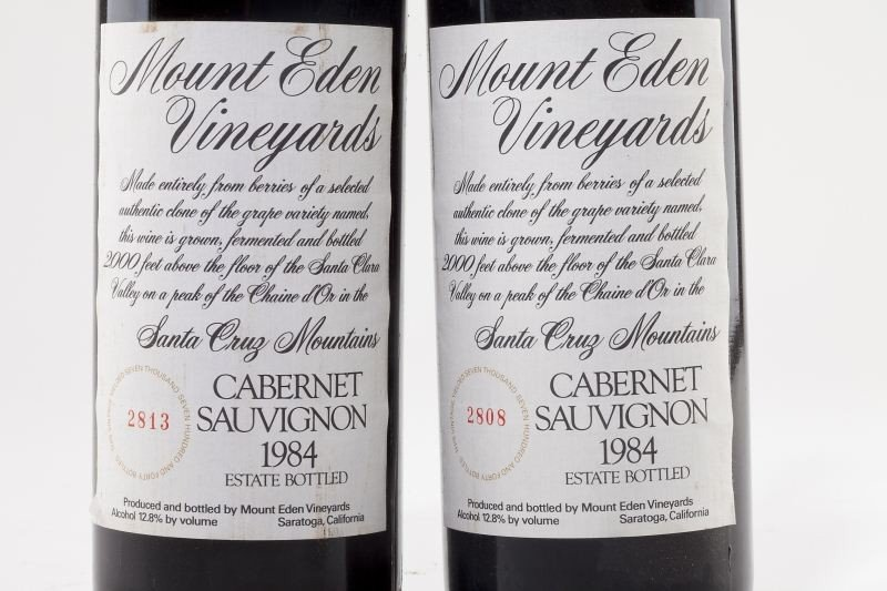 1026: 1983 & 1984 Mount Eden Vineyards - 3