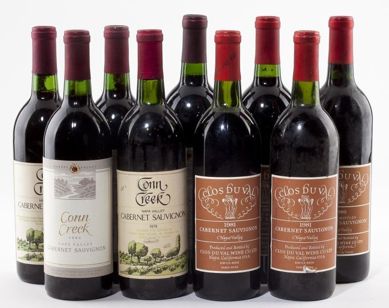 1032: Selection from Clos du Val & Conn Creek