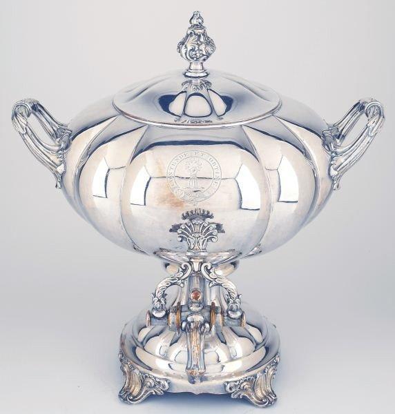 7: Regency Period Sheffield Plate Tea Urn