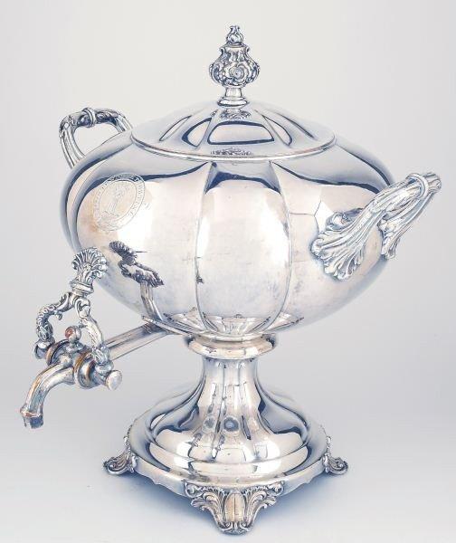 7: Regency Period Sheffield Plate Tea Urn - 2