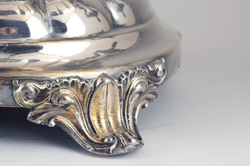 7: Regency Period Sheffield Plate Tea Urn - 6