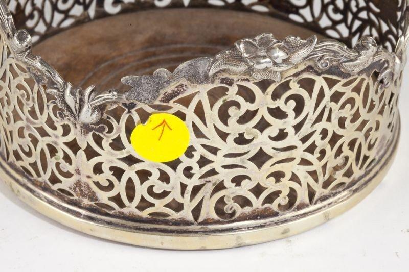 14: Pair of George III Sheffield Plate Wine Coasters - 3
