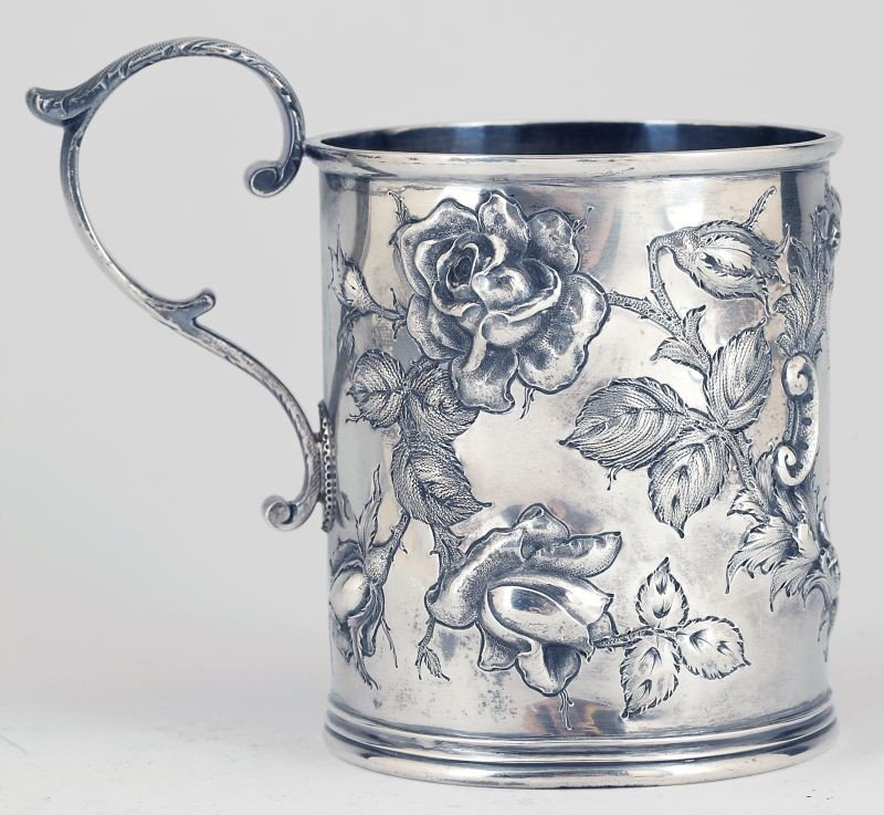 24: Baltimore Repousse Sterling Silver Cup