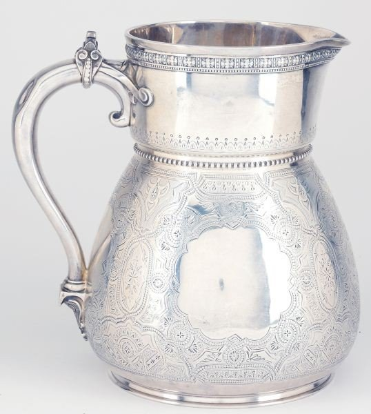 39: Tiffany & Co. Sterling Silver Water Pitcher