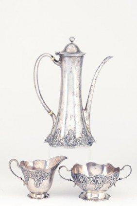 Tiffany & Co. Sterling Silver Demitasse Set