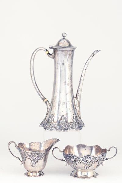 40: Tiffany & Co. Sterling Silver Demitasse Set