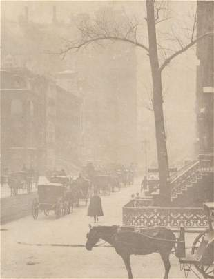 45: Alfred Stieglitz (Am., 1864-1946), Fifth Ave.