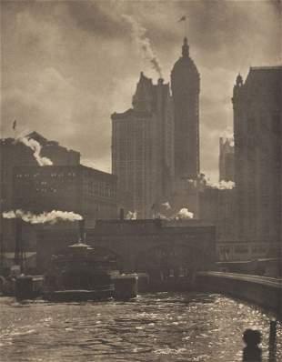 49: Alfred Stieglitz (Am., 1864-1946) City of Ambition