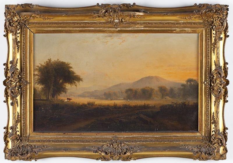 99: William Hart (NY/Br., 1823-1894), New England Farm