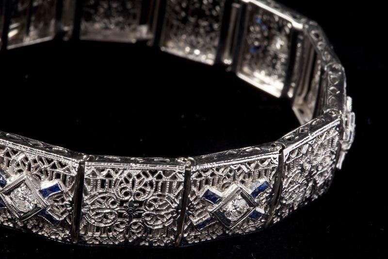 131: Edwardian Diamond Bracelet - 2
