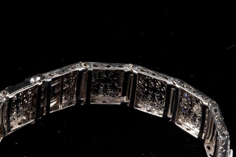 131: Edwardian Diamond Bracelet - 3