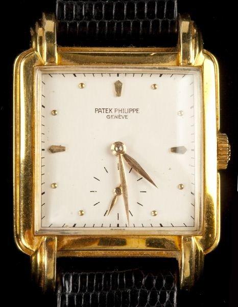 139: 18KT Vintage Gentleman's Watch, Patek Philippe