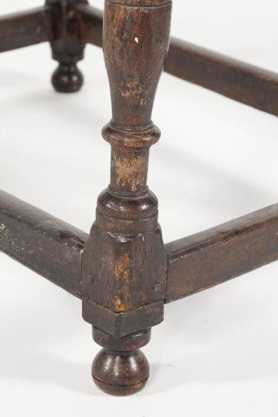 559: English Jacobean Style Oak Table - 3
