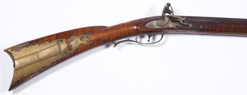 716: Samuel Baum Flintlock Pennsylvania Longrifle
