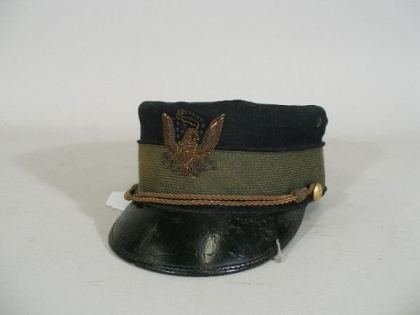 1004: US Army Pillbox Style Hat, c. 1880's,