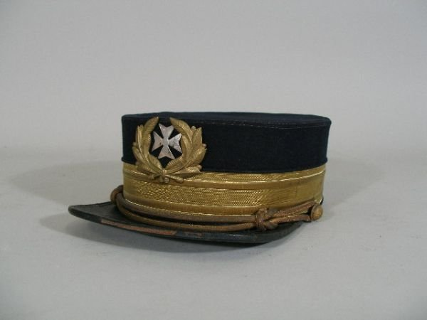 1005: US Army Medical Corp Cap, 1880's,