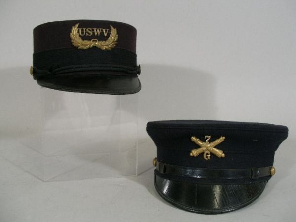 1007: Two US Army Hats, c.1900's