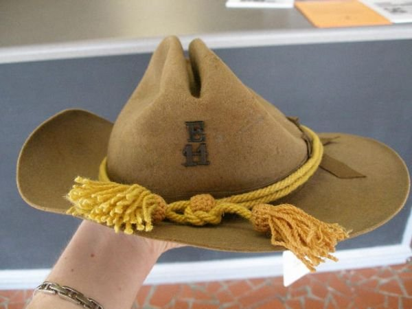 1008: US Army Campaign Hat, Late 1880-1890's, - 10