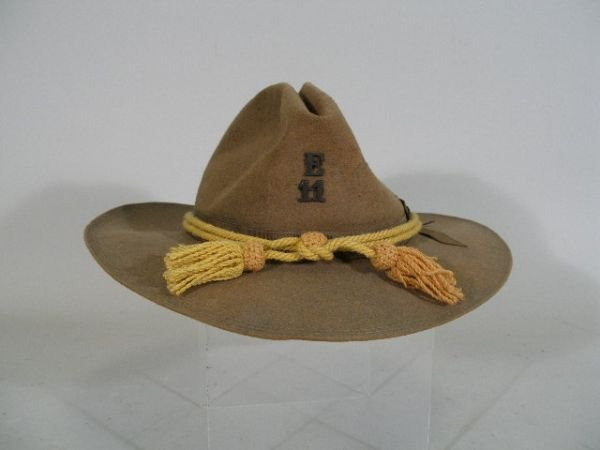 1008: US Army Campaign Hat, Late 1880-1890's,