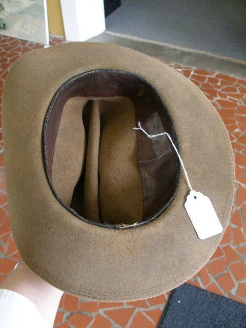 1008: US Army Campaign Hat, Late 1880-1890's, - 2