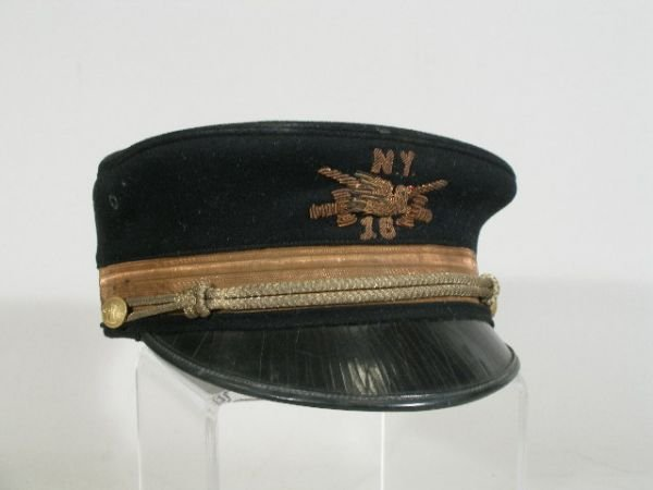1011: US Army Visor Hat, Late 1800's,