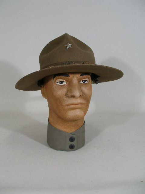 1016: US Army WWI Brigadier General Campaign Hat,