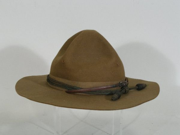 1019: US Army Campaign Hat WWI,
