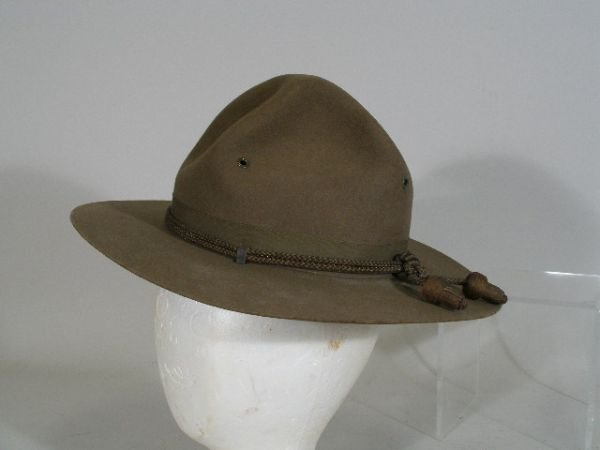 1020: US Army Campaign Hat WWI,