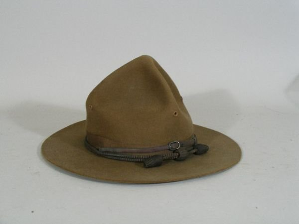 1021: US Army Campaign Hat, WWI Era,