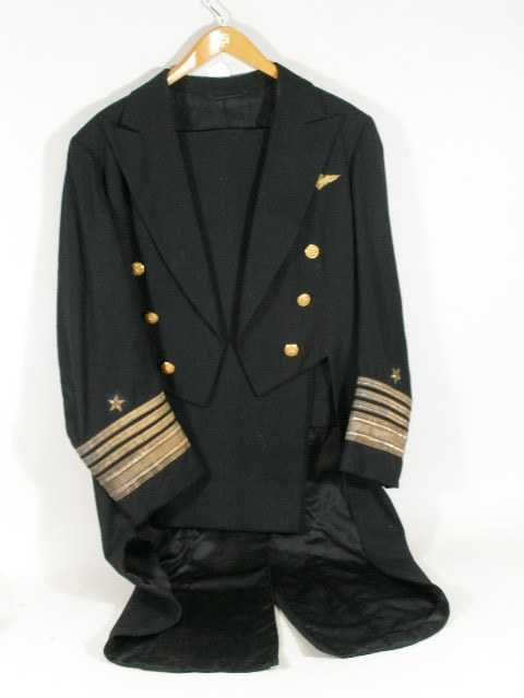 1304 Us Navy Admirals Formal Dress Uniform C 1940s