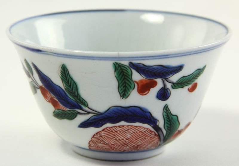 1: Chinese Porcelain Wucai Bowl