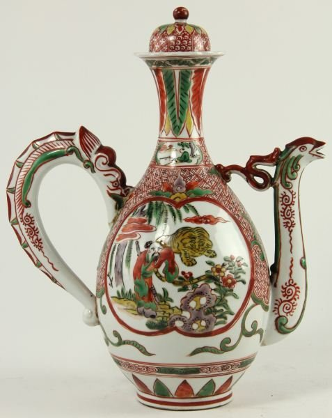 11: Japanese Covered Wine Pot