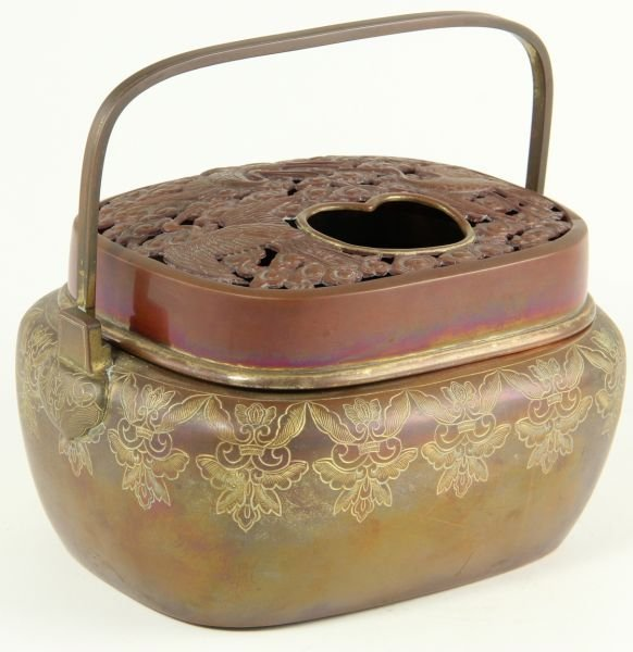 19: Chinese Portable Brazier, 19th Century