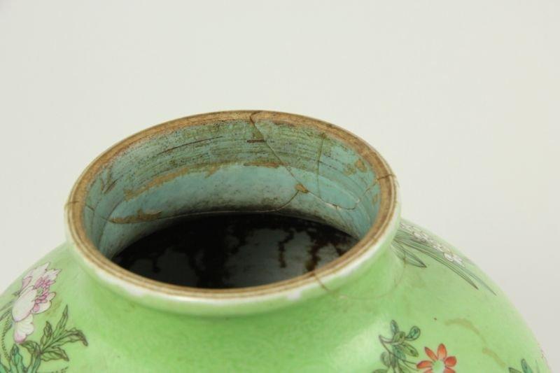 30: Chinese Porcelain Vase - 5