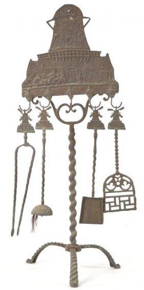 European Fireplace Tool Set