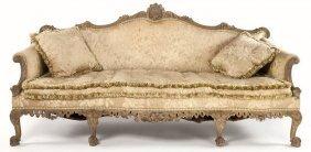 George II Style Carved Sofa