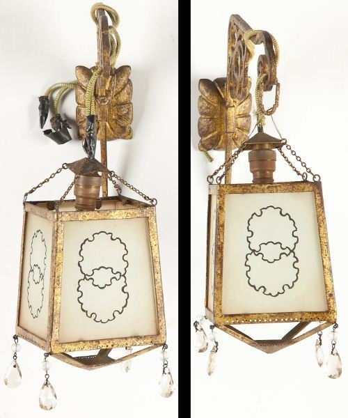 118: Pair of Chinese Wall Sconces