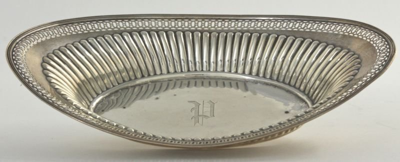 270: Sterling Silver Bread Tray